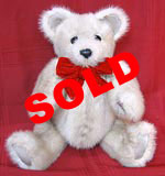 Natural Tourmaline Mink Fur Teddy Bear