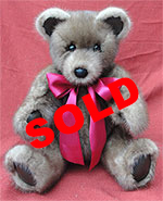 Ranch Mink Sections Fur Teddy Bear