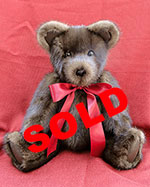 Mahogany Mink Fur Teddy Bear