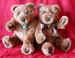 squirrel fur teddy bears