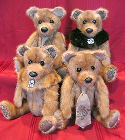 Autumn Haze Mink Teddy Bears