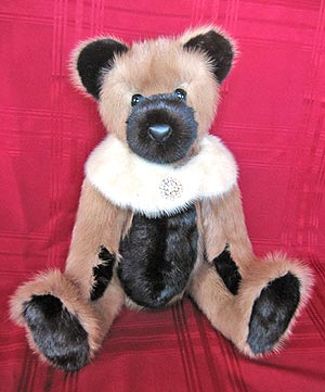 Teddy bear made form Kohja Fur