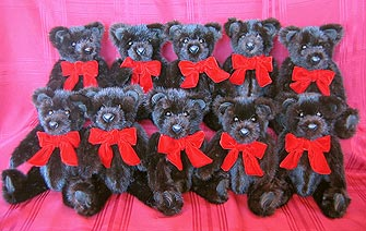 Teddy Bears from Ranch Mink Coat