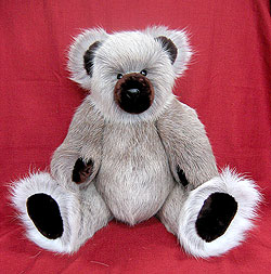 "24"" Caribou Teddy Bear with mouton snout, inner ears and paw pads"