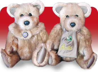 Stadler Fur Bears Real Fur Heirloom Teddy Bears
