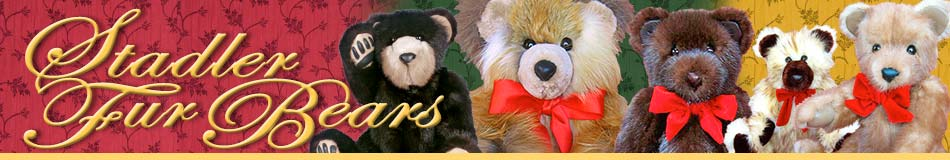 Stadler Fur Teddy Bears, real fur bears and heirloom teddy bears from fur coats